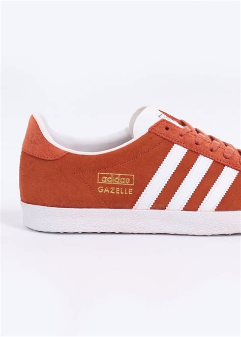Adidas Gazelle Og Fox adidas originals gazelle og trainers fox running white