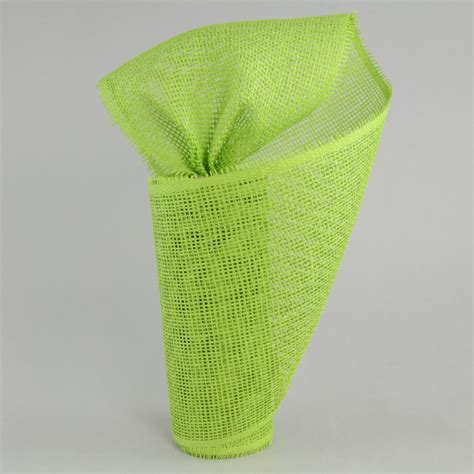 Paper Mesh Craft - 10 quot paper mesh roll lime green 10 yards rr800133
