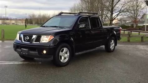 2007 nissan frontier le 4x4 for sale in langley bc sold