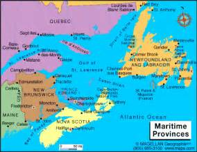 map of canada maritime provinces featuring atlantic canada scotia prince edward