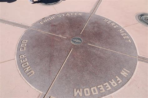 For Corners gjhikes four corners monument