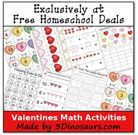 valentines activities for free math printables