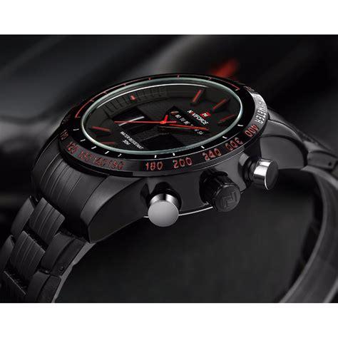 Jam Tangan Pria Suunto Digital Premium navi jam tangan analog digital pria 9024 black jakartanotebook