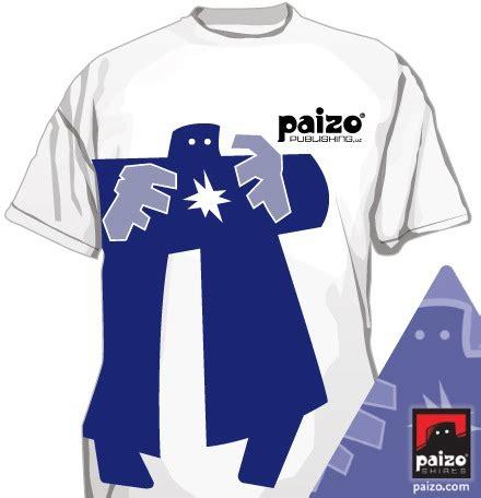 Golem On T Shirt paizo paizo golem t shirt limited edition