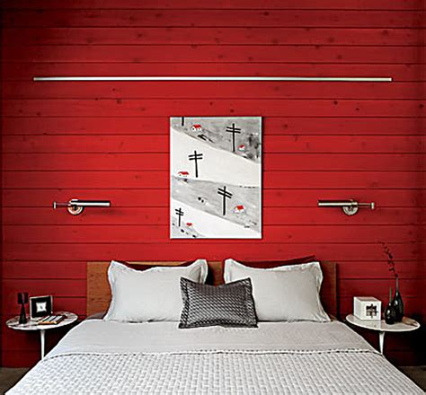 red bedroom walls a modern red barn honeysuckle life