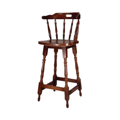 High Wooden Bar Stools by Captains Pub High Stool Barmans Co Uk