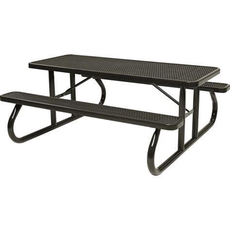 Lifetime Folding Picnic Table Lifetime 6 Ft Folding Picnic Table With Benches 22119 The Home Depot