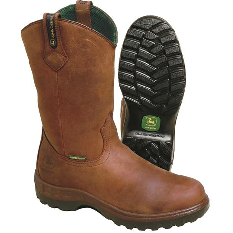 s deere boots deere 12 quot h leather wellington boots gempler s