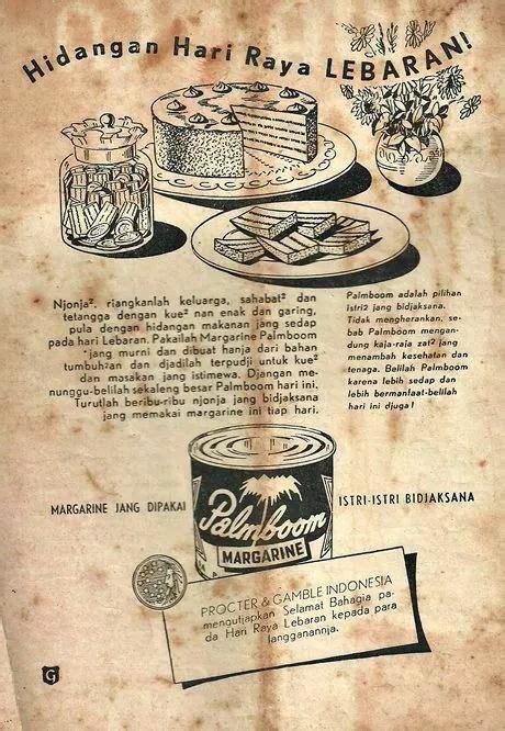 desain grafis poster hidangan lebaran indonesian old commercials pinterest