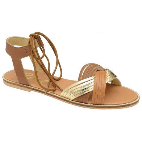 Flat Shoes Murah 3 buy ravel navarro flat sandals in gold leather