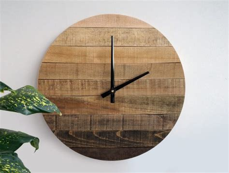 wood clock designs 34 wooden wall clocks to warm up your interior