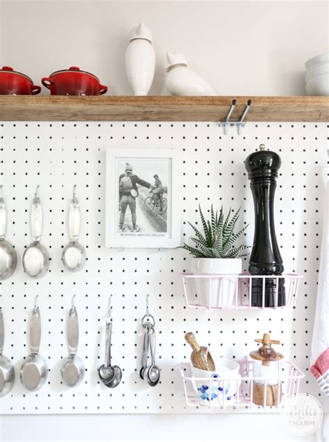 pegboard ideas kitchen 22 diy pegboards to organize almost everything page 2 of
