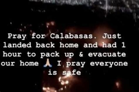 kim kardashian west fire kim kardashian west s calabasas home evacuated after mass fire