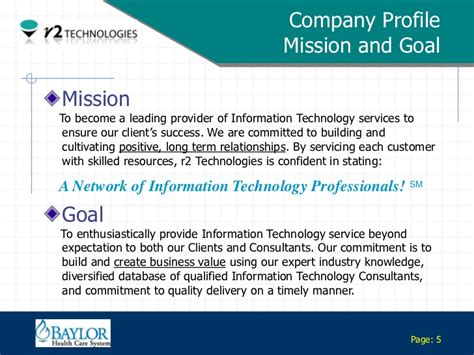 information technology company profile template r2 tech visual profile slide briefing