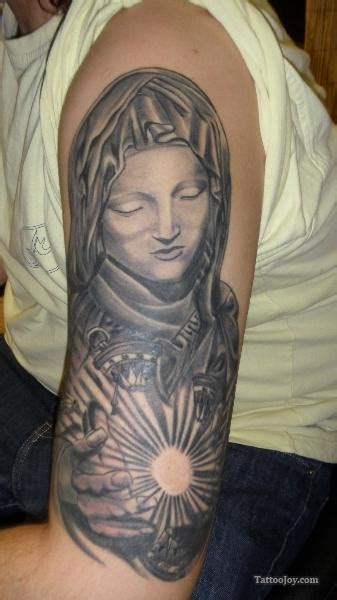 virgin mary half sleeve tattoo designs christian images designs