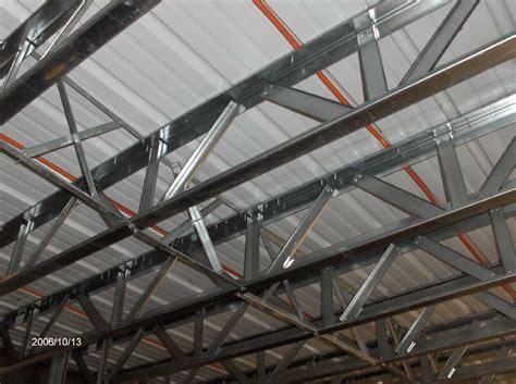 Metal Floor Joists by Floor Steel Open Web Joists And Metal Deck For Stehr