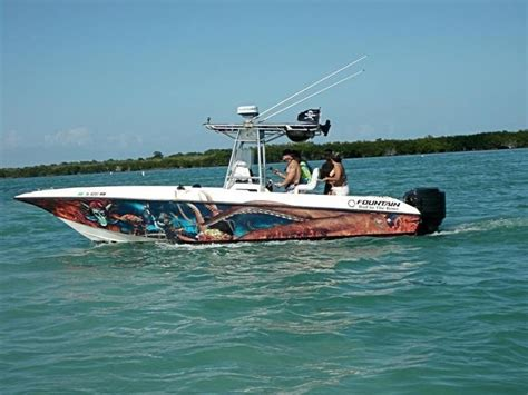 boat vinyl wrap for sale boat wrap miami by wrapcity vehicle and boat wraps