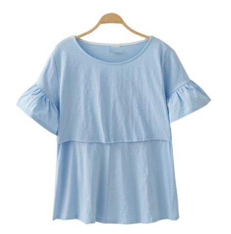 best clothing cotton maternity clothing nursing tops