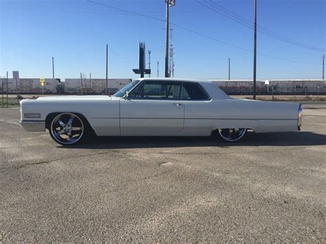 cadillac 1966 for sale 1966 cadillac coupe bagged custom for sale