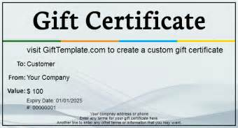 business gift certificate template free gift certificate templates free gift certificate