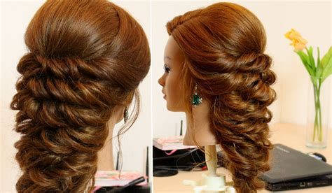 Easy Bridal Hairstyles For Hair by Easy Hairstyle For Hair Tutorial