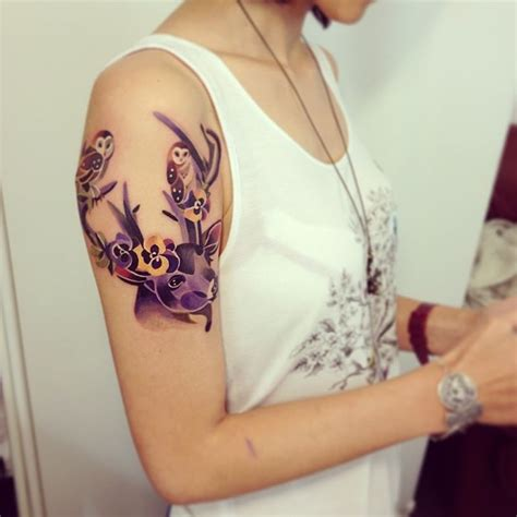 unisex tattoo designs watercolor tattoos will turn your into a living