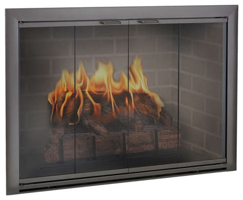 Custom Fireplace Glass Doors by Brookfield Aluminum Fireplace Glass Door Custom Product Fireplace Accessories By Cj S Home