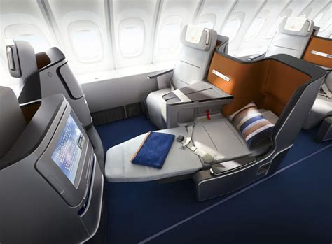 airlines with fully reclining seats fab new interiors at lufthansa british airways