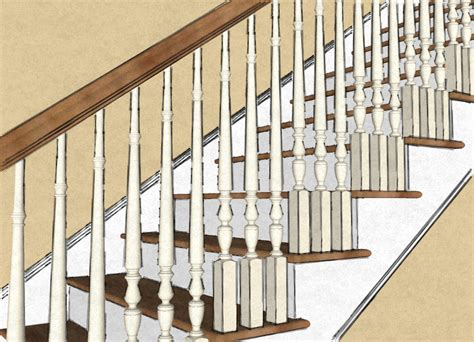 Banister Vs Baluster Closed Vs Open Stringer Stair Newels
