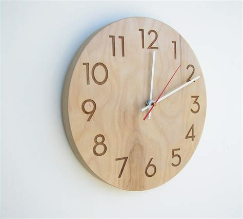 Wooden Wall Clock | wooden clock patterns 171 free patterns