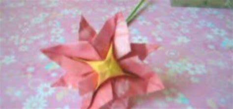 8 Petal Flower Origami - how to origami an 8 petal origami flower 171 origami