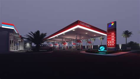 lumion night tutorial lumion 6 rendering tutorials 13 petrol stations 3d
