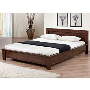 amazon full size bed amazon com alsa platform full size bed kitchen dining
