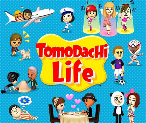 Tomodachi Life: Welcome Version bij elke volledige versie