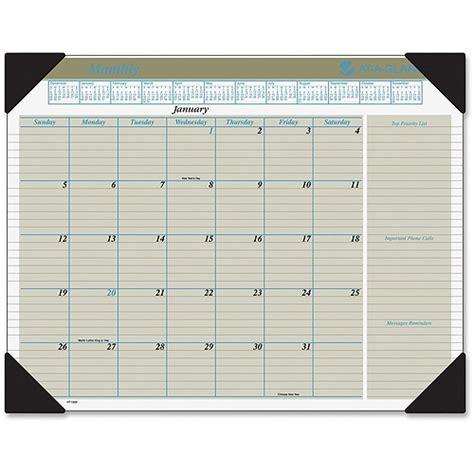 at a glance executive monthly calendar desk pad walmart com