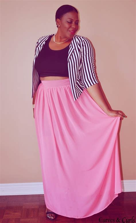 maxi skirt plus size 2014 2015 fashion trends
