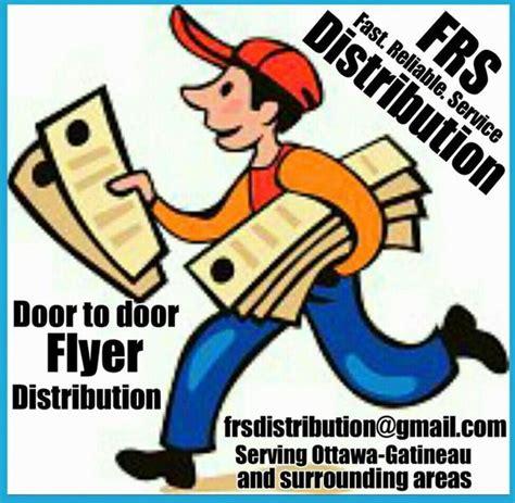 door to door flyer distribution toronto door to door flyer distribution for ottawa and gatineau