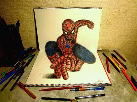 game membuat lukisan lukisan 3d dari jepang hanya dengan pinsil dan kertas