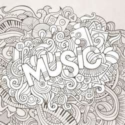 36 images music colouring sheets