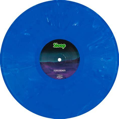 colored vinyl records sleep dopesmoker colored vinyl