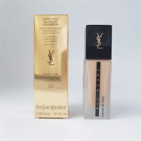 Ysl All Hours Foundation 25ml yves laurent ysl encre de peau all hours foundation