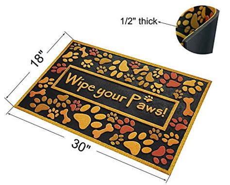 Mats For Paws by Outdoor Shoe Scraper Wipe Paws Doormat Recycled Rubber