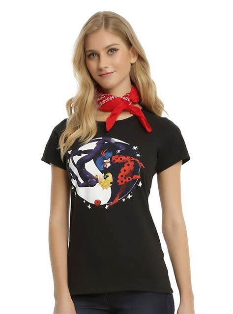 miraculous tales of ladybug amp cat noir yin yang girls t