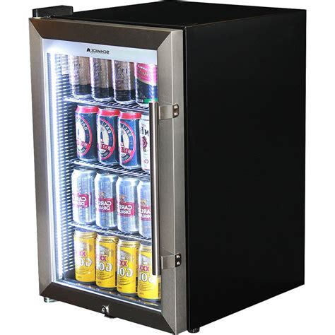 bar with and fridge schmick tropical glass door mini bar fridge 70 litre