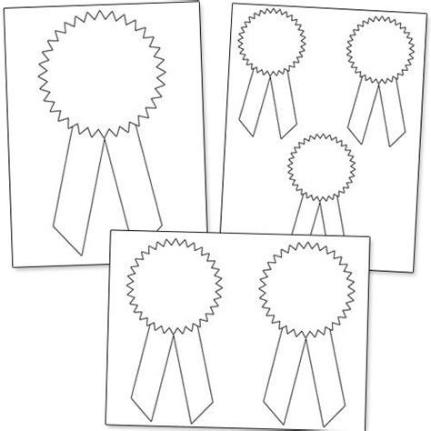 Free Printable Award Ribbon Template