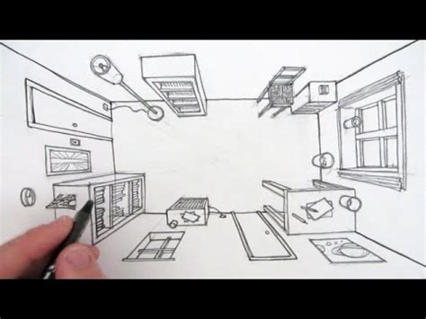 bird s eye view sketch of indoor outdoor house interior design ideas how to draw a room in one point perspective a bird s eye