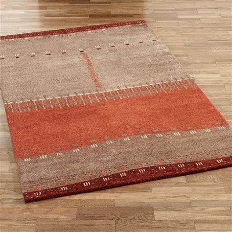 southwestern style area rugs path in sand wool southwest area rugs