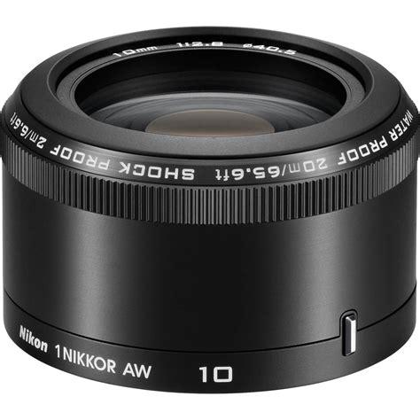 Nikon 1 Nikkor Aw 10mm F 2 8 nikon 1 nikkor aw 10mm f 2 8 lens 3361 b h photo