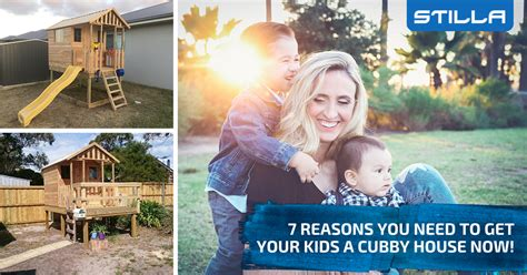 7 Reasons To Dr Houses Children by 7 Reasons You Need To Get Your A Cubby House Now