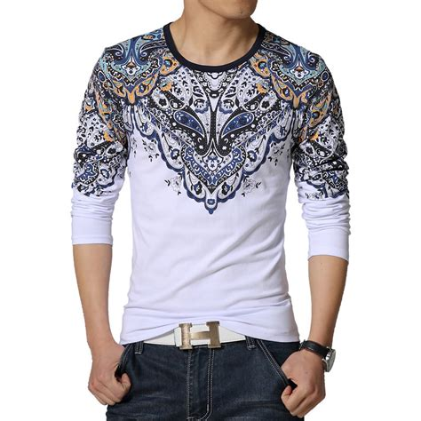 Sale O Neck Slim Shirt aliexpress buy 2016 new t shirt mens printed o